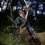 7 Yard Archery Bull Elk
