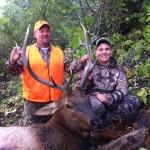 Muzzleloader Bull Elk Father