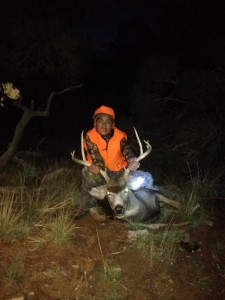 Mule Deer Down