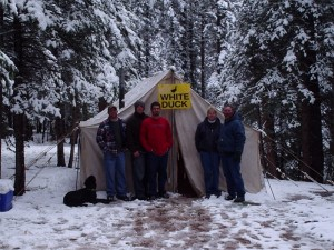 Colorado Elk Camp Outfitters Accommodations on Hunting Trip